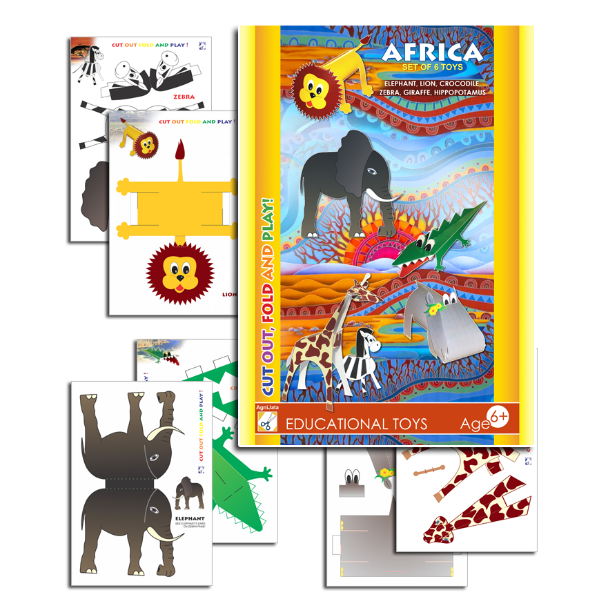 Agnijata Educational Toys - Africa Craft Set