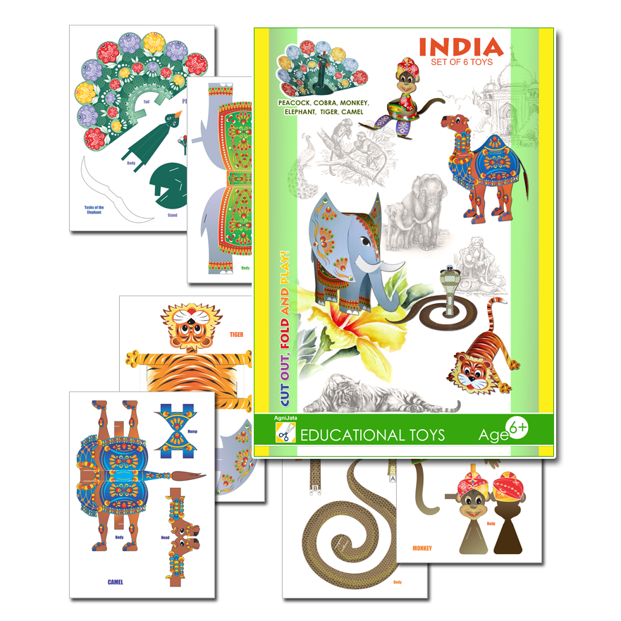 Agnijata Educational Toys - India Craft Set