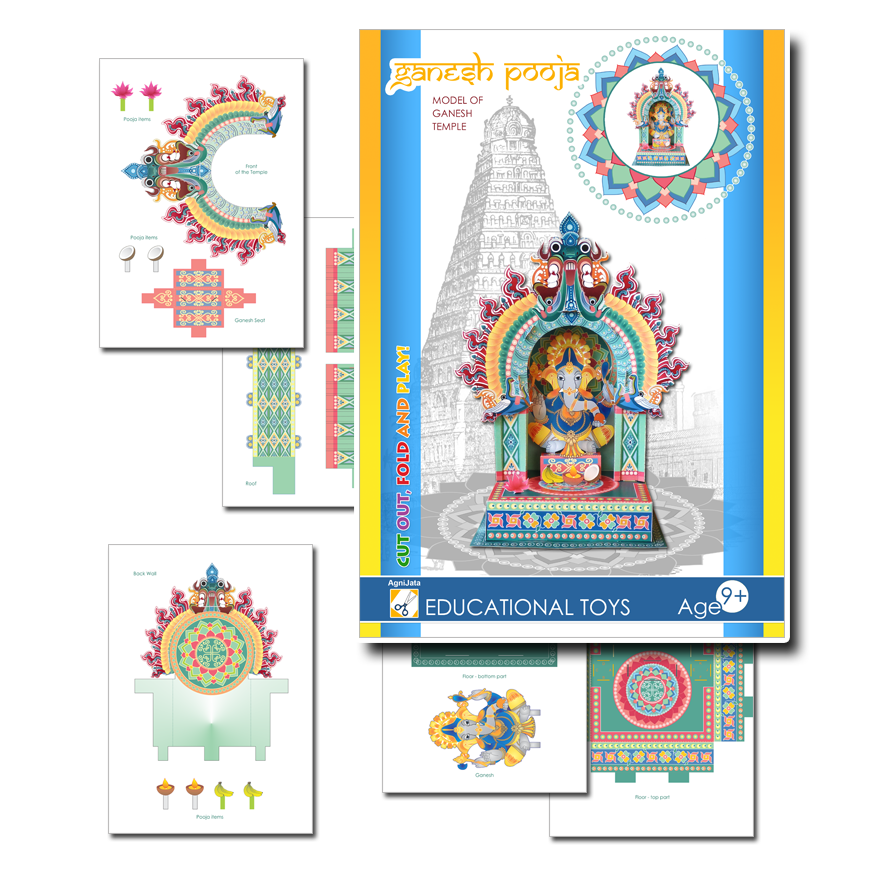 Agnijata Educational Toys - Ganesh Pooja Craft Set