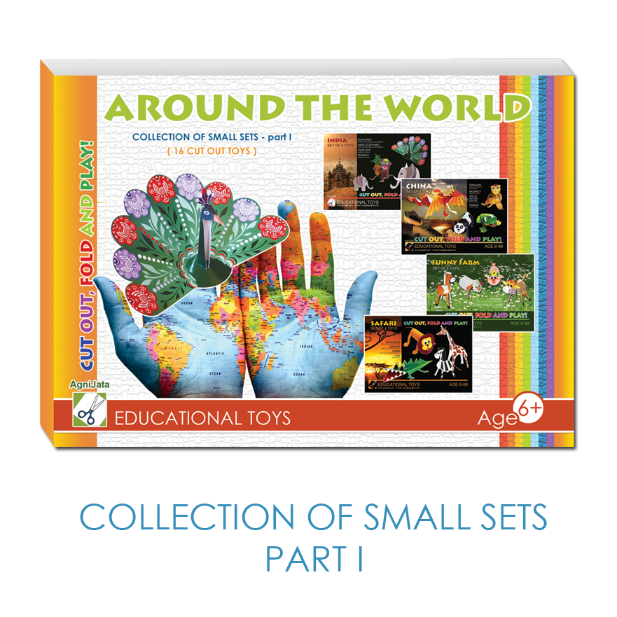 Agnijata Educational Toys - Collection of Small Sets - part 1